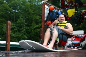 Eastern Adaptive Sports Waterskiing on Squam Lake