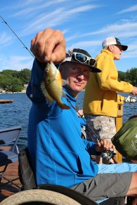 Eastern Adaptive Sports Fishing on Squam Lake