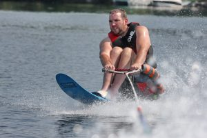 Eastern Adaptive Sports-Waterskiing on Squam Lake