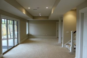 Squam River Landing-Completed Walk-out Basement